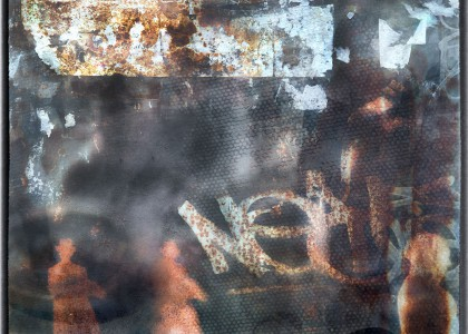 The Metaphysics Of Stencils, Rust & Paper-Embracing Its Patina